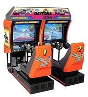 arcade game machines include driving games