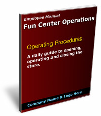 family entertainment center operating procedures