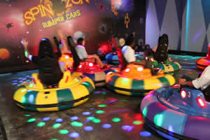 equipment leasing for bumper cars