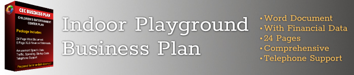 indoor playground party center business plan